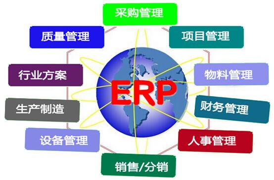 企业运行ERP系统