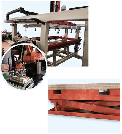 PUR板材复合机自动机械手